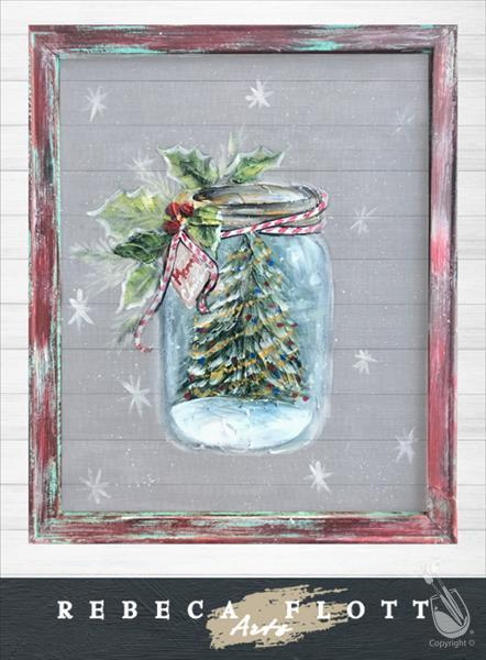 Merry Mason Jar! - IN STUDIO