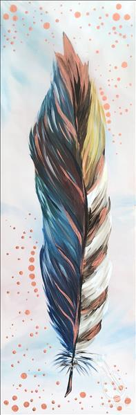 Metallic Feathers - Copper **LIMITED SEATING**