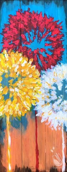 Autumn Dandelions (Canvas) ...adults