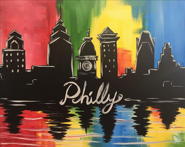 How to Paint Philly Colors