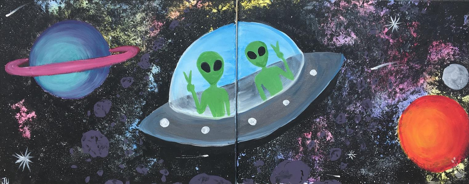 Kids Camp - Paint Your Own Alien