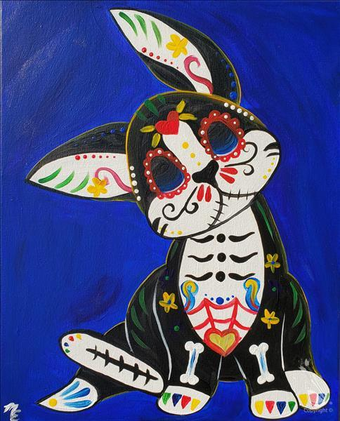 How to Paint Dia de los Muertos -  Paint your Pet!