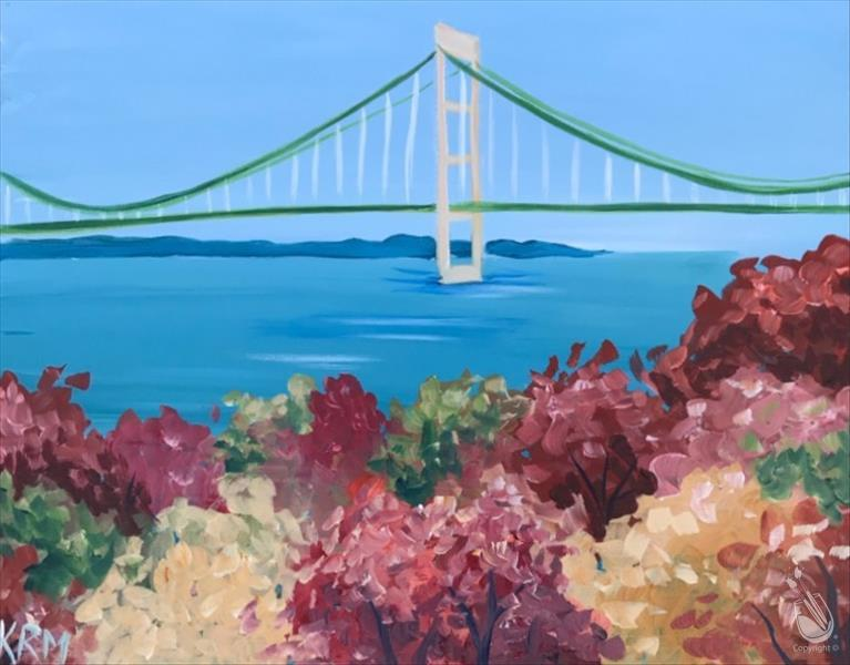 How to Paint PUBLIC: Mackinac Autumn  **New Art**