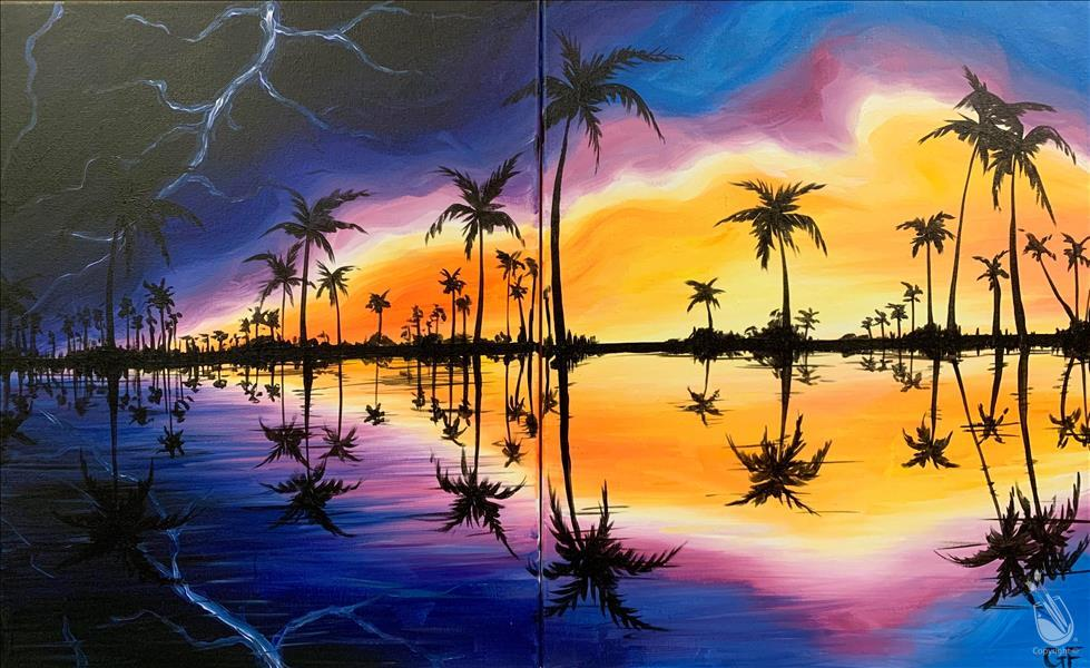 Stormy Reflections - Date Night Set!