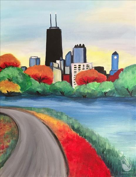 Chicago in Fall Painting Party
