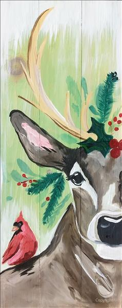 IN-STUDIO: Rustic Christmas Deer