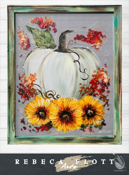 Rebecca Flott Arts Fall, Flowers and Friends.