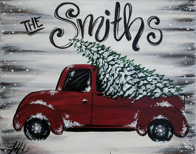 Holiday Truck - Personalize!