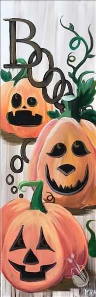 Boo-tiful Pumpkins Open Studio