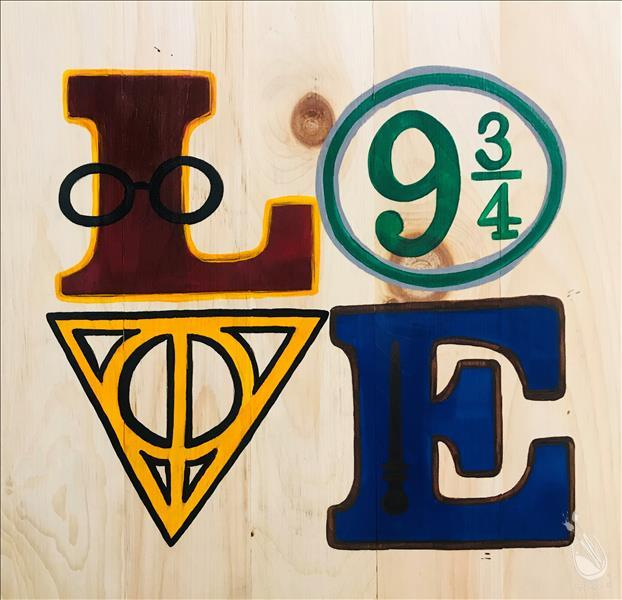 Wizard LOVE Real Wood Board