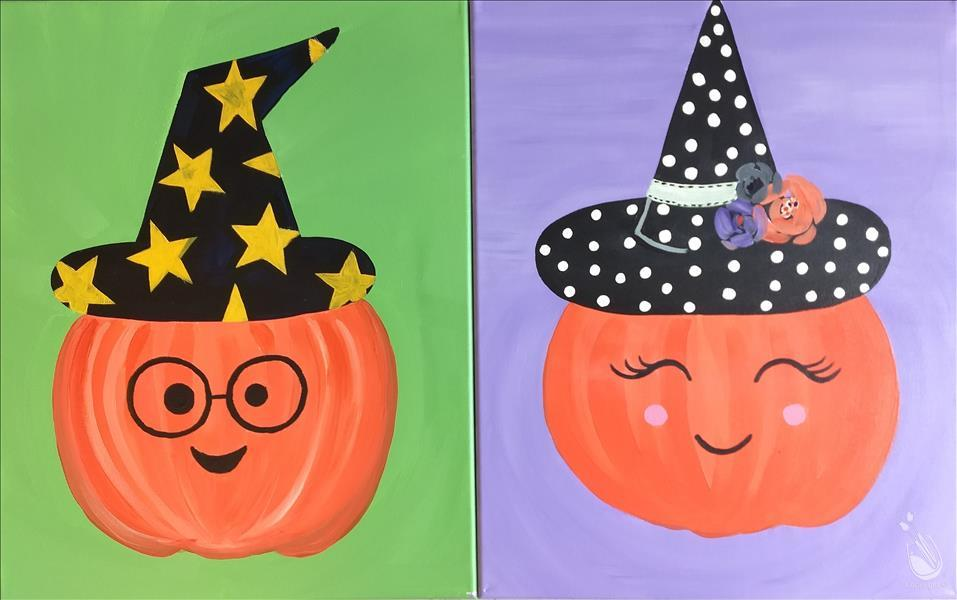 Ages 5+! Pumpkin Emojis - 2 Person Set or Pick 1