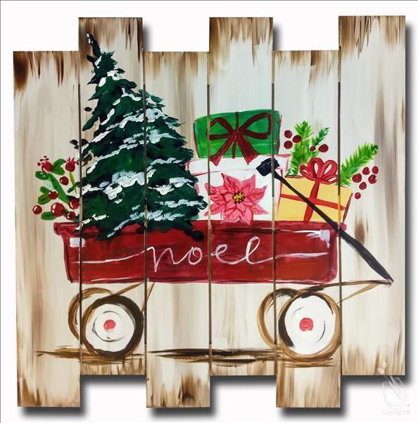 Santa's Little Wagon Painting Party