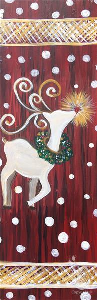How to Paint PUBLIC: Rustic Christmas Charm - Reindeer
