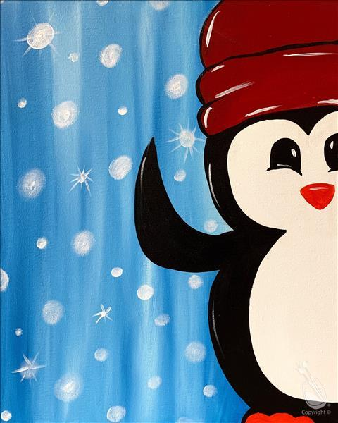 *Family Day* Winter Peekaboo Penguin