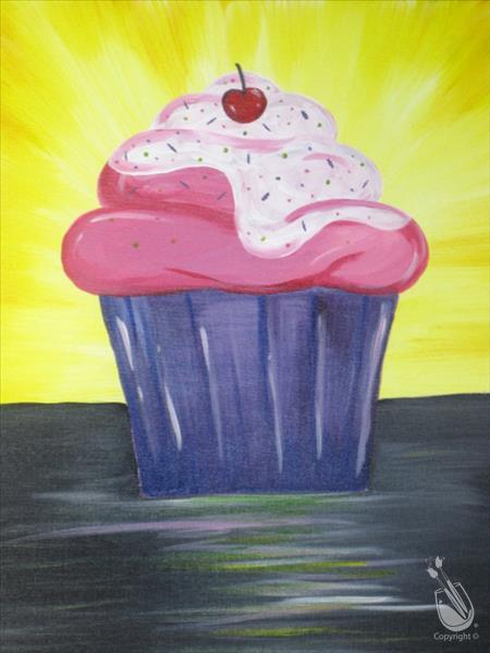 How to Paint Good Morning, Cupcake (10 and up)