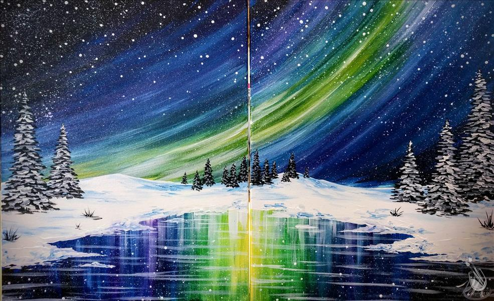 Winter Northern Lights - Set