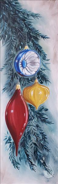 Holiday Ornaments Painting Party