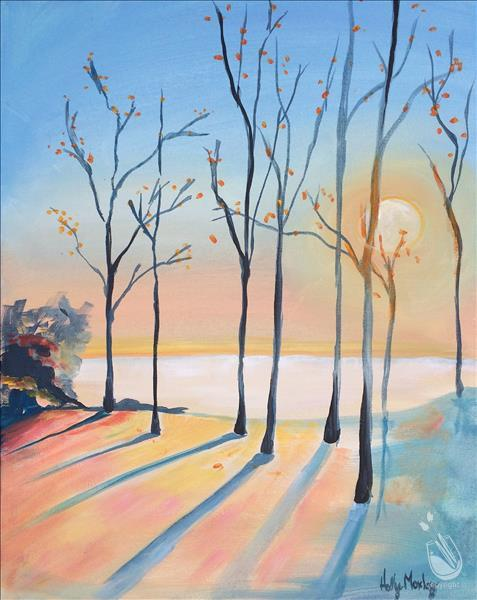 How to Paint Early Winter Morning