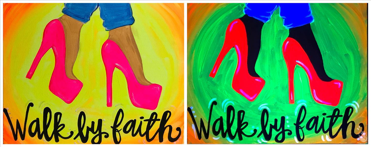 WALK BY FAITH**Public BLACKLIGHT Event**