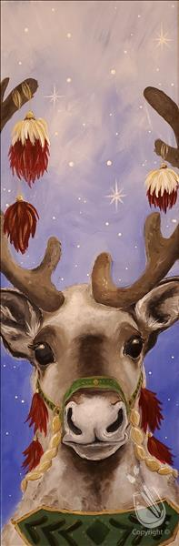 Clyde the Caribou Painting Party