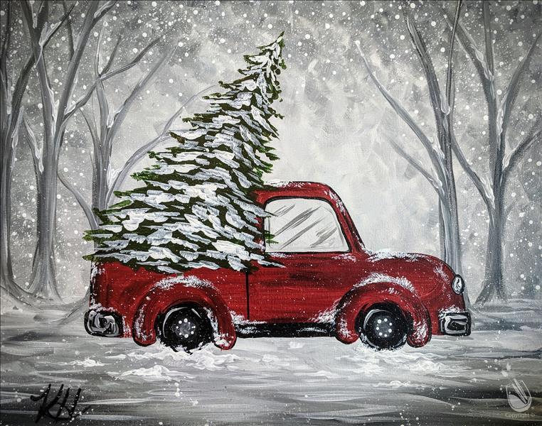 How to Paint Holiday Pick-Up 2