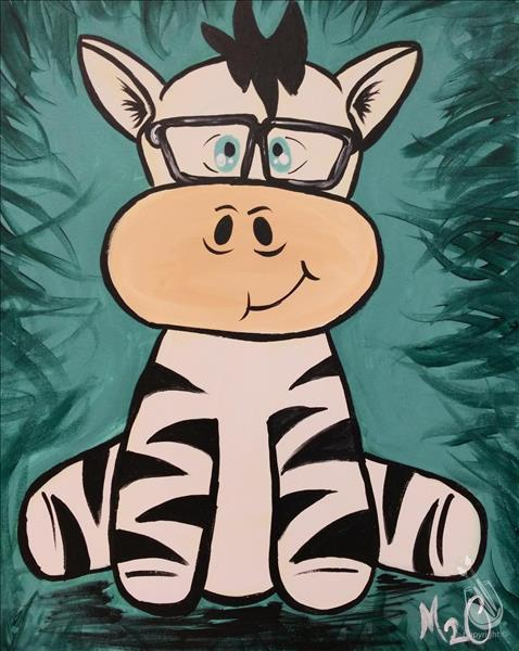 *FAMILY DAY* Spectacle Pals - Zebra
