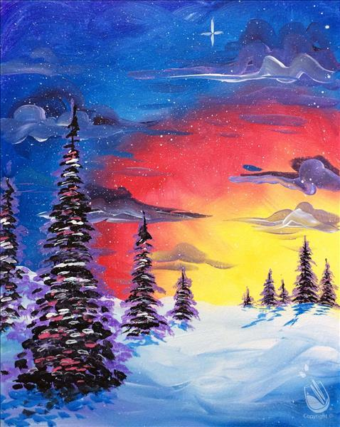 How to Paint A Bright Winter