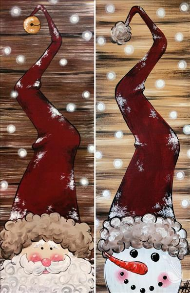 Rustic Santa or Snowman - u customize !