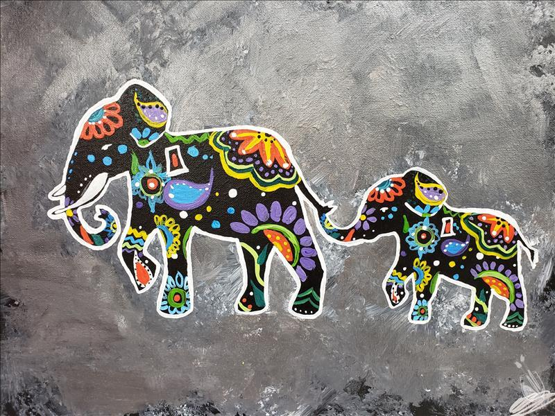 How to Paint Elephant Love