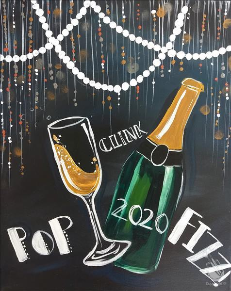 How to Paint !New Art! Pop, Clink, Fizz