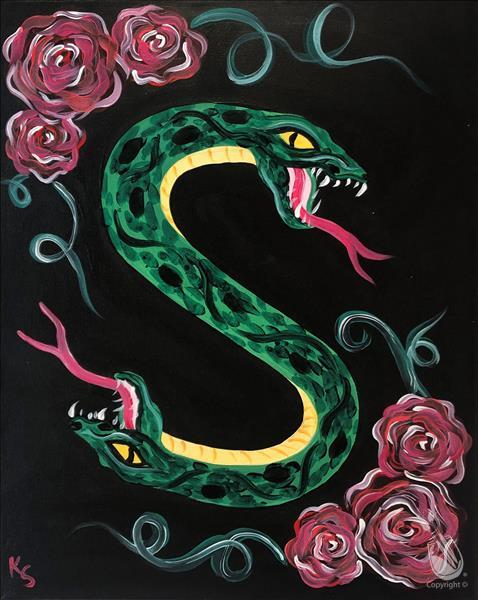 Double-Headed River Serpent
