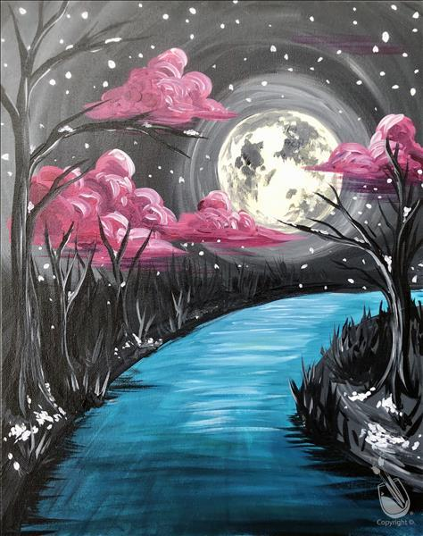 How to Paint Ladies Night Party! PRIVATE EVENT