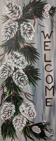 Pinecone Welcome - Personalize!!