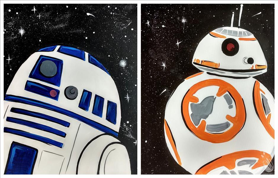 How to Paint ALL AGES~Star Wars-Pick Your Character - Droid Set