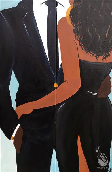 "Date Night! ""Night Out"" Long Art SET! 18+ Class"