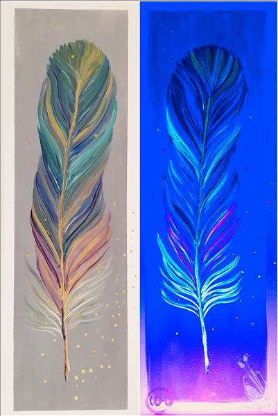 How to Paint Feather - Blacklight Class