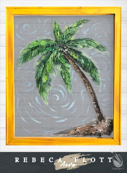 Rebeca Flott Arts (SCREEN PAINTING) - Palm Fun