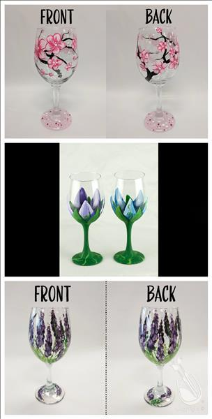Wine it Up Wednesday - Wineglass Workshop!