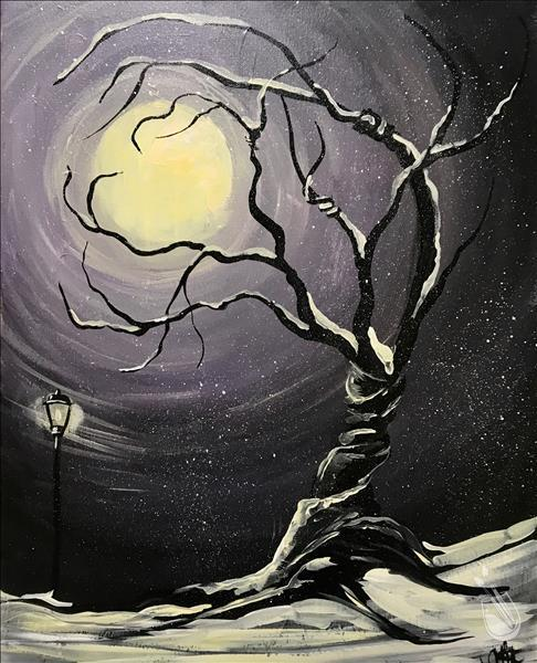 Twisted Moonlight in Winter