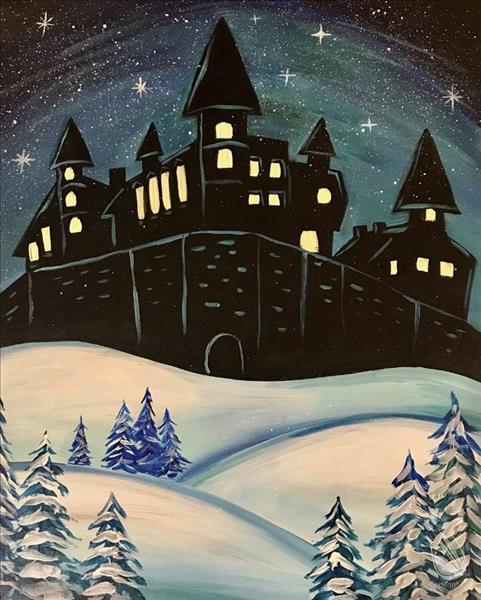 *IN STUDIO-WIZARD TRIVIA* Winter at the Castle
