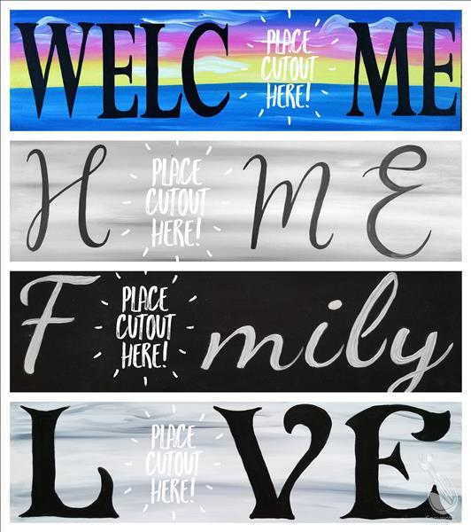 Choose Sign & Cutouts x 6 - Family Day