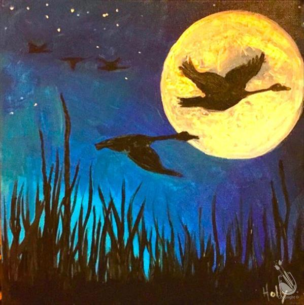 Just Added! Moon Lit Flight