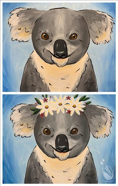 How to Paint Fundraiser for Austrailia Wildlife (Ages 8+)