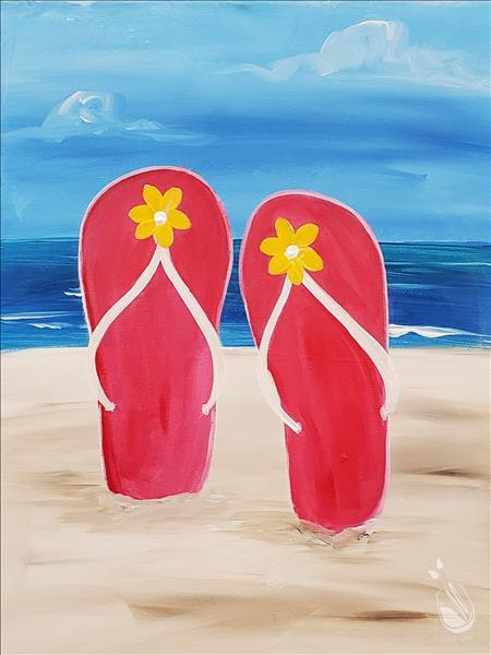 Family Day-Summer Days-Customize your Flip Flops