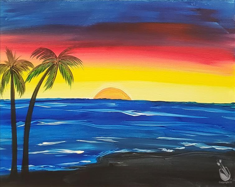 NEW! - Beach Sunset - TEENS WELCOME!
