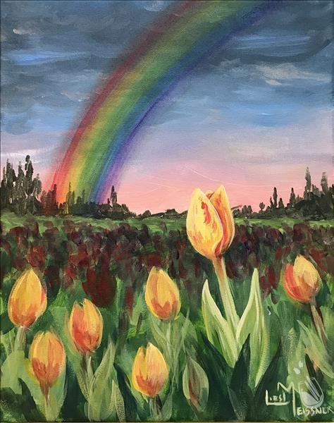 NEW! - Tulip Fields & Rainbow
