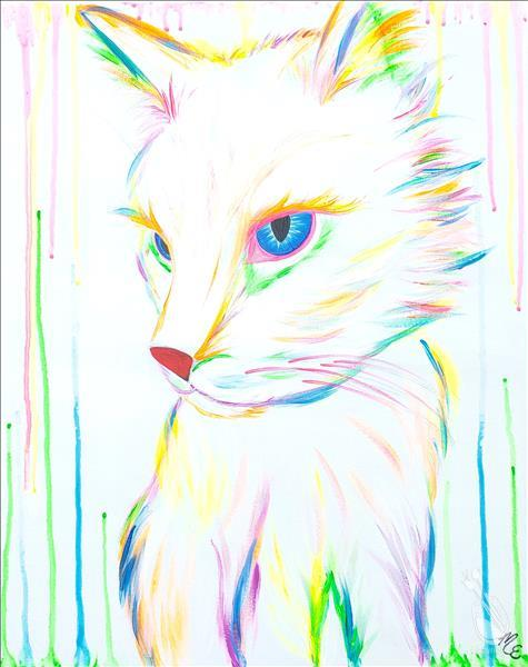 Neon MEOW-Customize Colors | Blacklight Paint too!