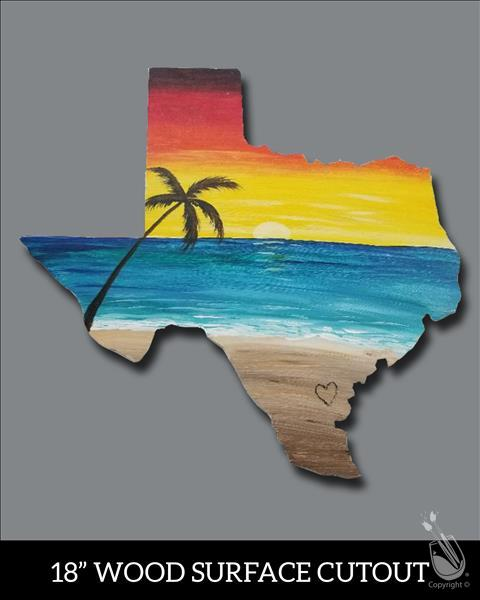 Lone Star Beach Cutout - Adults