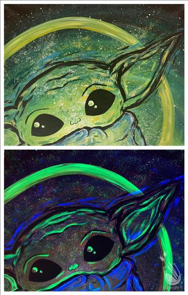 The Child 2 Blacklight Set