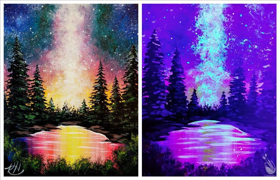 Bright Forest Blacklight *Choose Your Surface*